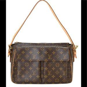 Authentic Louis Vuitton Viva Cite' GM Monogram Bag